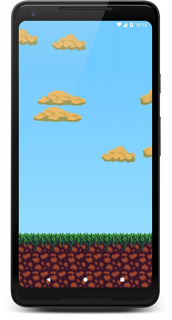 [Live Wallpaper] Pixel-style Live Wallpaper with dynamic sky (location-based)-screenshot_1534025450_framed.jpg