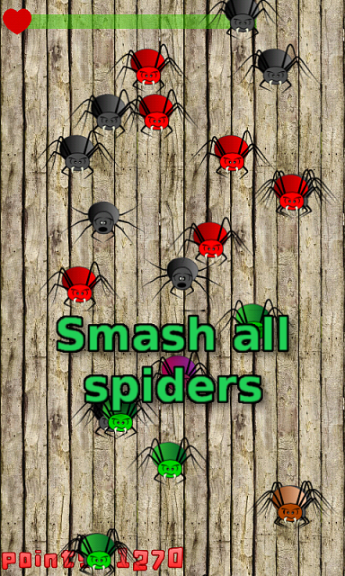 [FREE] [GAME] Spider Flood Free-gameplay1.png