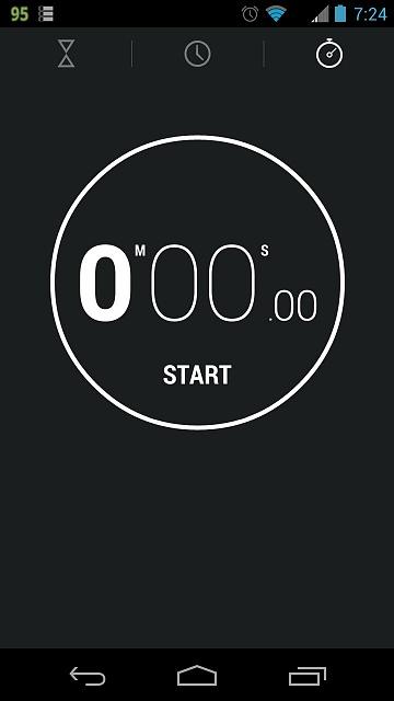 Where is countdown timer? - Android Forums at AndroidCentral com