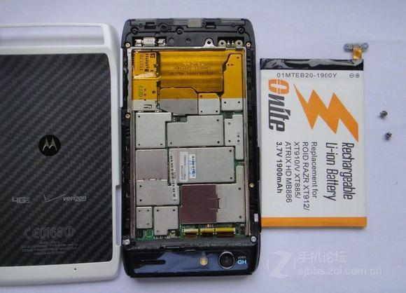 The way to replace battery of XT910-4.jpg