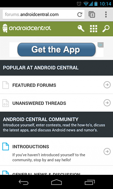 How to use our Mobile Forums Theme-home-screen.png