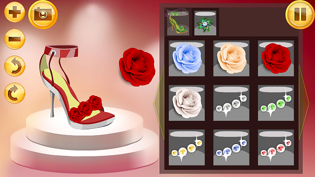 Shoes And Clothes Design Games For Free Colorful game Shoe Designer