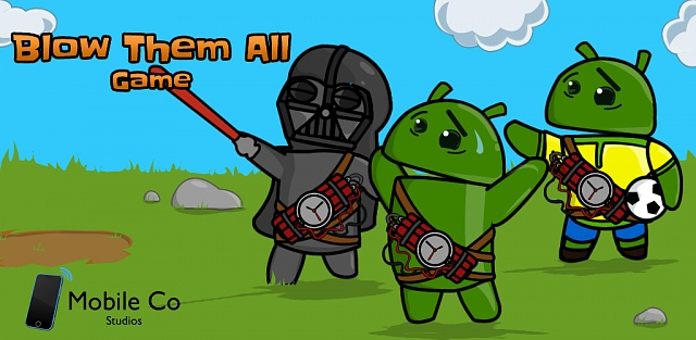 """An addictive game for boring moments! """"Blow Them All The Game""""  (Google Play Game Services included)-banner01game.jpg"""