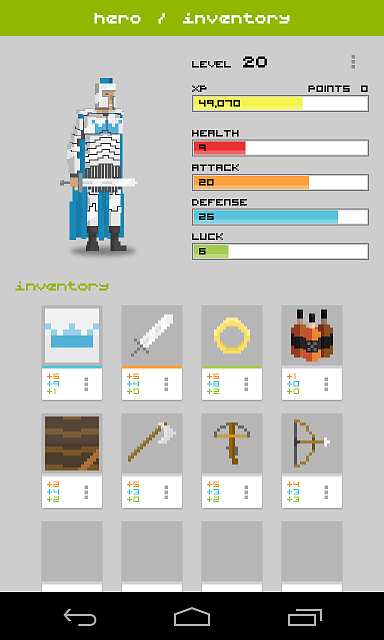 [FREE][GAME] Widget RPG | Become a hero!-screenshot-3.png