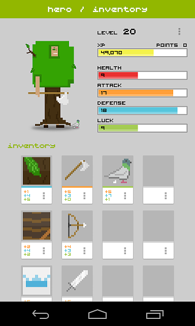 [FREE][GAME] Widget RPG | Become a hero!-screenshot-4.png