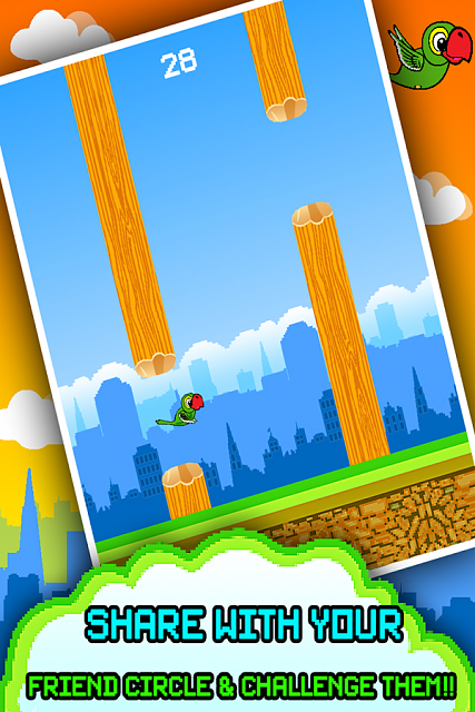 [FREE NEW GAME FOR FLAPPY LOVERS] Clumsy Parrot - Extreme Jumps-clumsy2.png