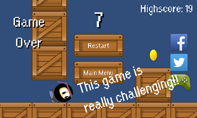 [FREE GAME] [2D Platformer] Crate Run (Google Play Game Services - compete with your friends!)-google4.png