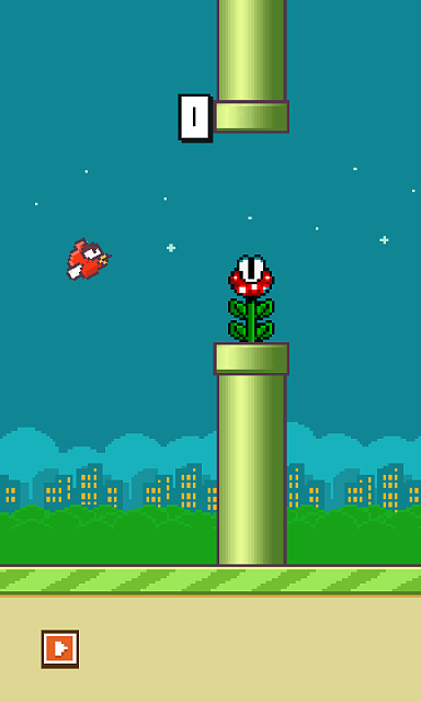 [GAME]New Release Flappy Bird Impossible with moving pipes, piranha plants and more...-979623screenshot20140720004142.png