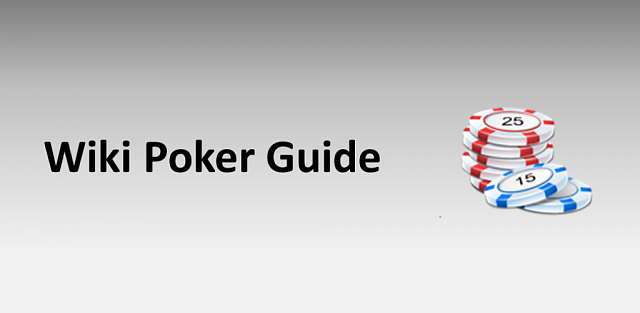 how to play poker wikipedia