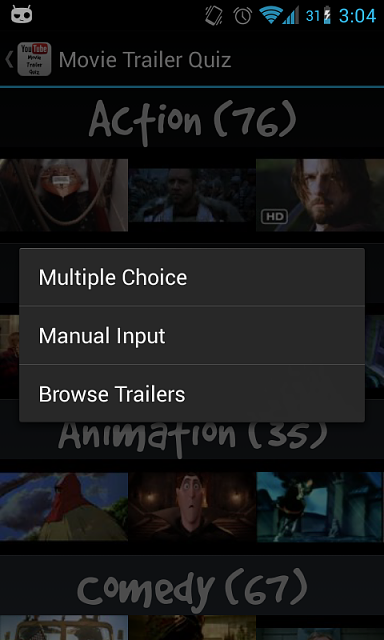 Movie Trailer Quiz - Latest YouTube Android API-device-2013-01-27-030432.png
