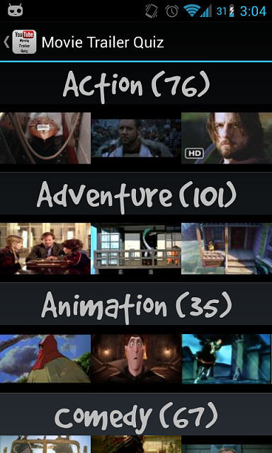 Movie Trailer Quiz - Latest YouTube Android API-device-2013-01-27-030410.png