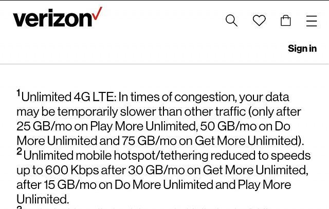 """Data Usage Limited"" message on Verizon Unlimited Plan?  (Due to Time of Day or a Data Limit?)-20200619_051347.jpg"