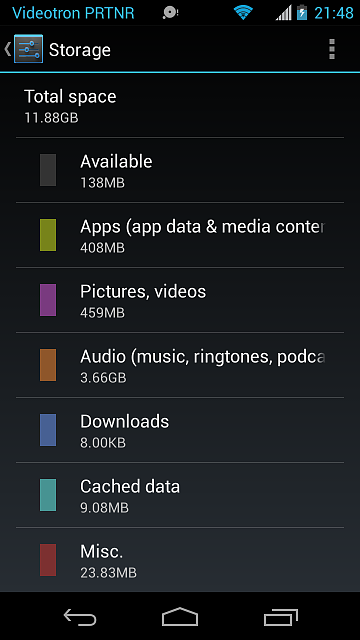 4.7 GB used, 11.8 GB total space but 138MB available-screenshot_2014-01-08-21-48-56.png