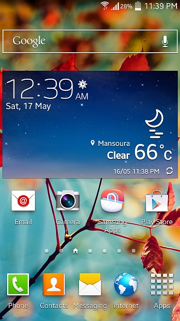 How do I replacing the weather widget on my Galaxy S4?-screenshot_2014-05-16-23-39-45.jpg
