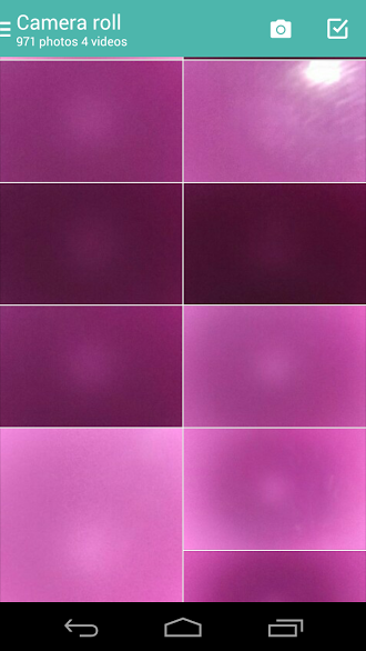 What on earth has happened to the photos in my gallery? Very odd.  -  Moto X (1st Gen)-0.png
