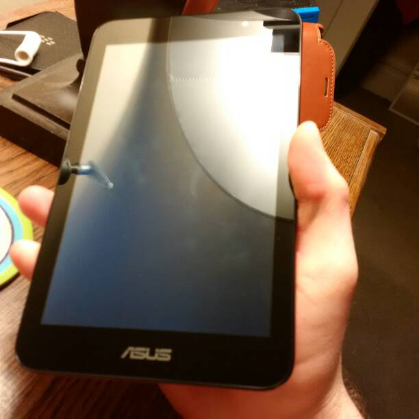 Instructions for asus memo pad 7