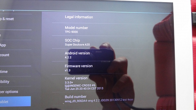 Can anyone try to find firmware for my super rare tablet? - Android