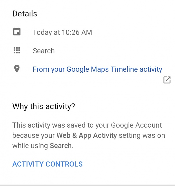 Why do i have a box with and arrow pointing out of it in some of my google activity-screenshot_20180917-112140_chrome.jpg