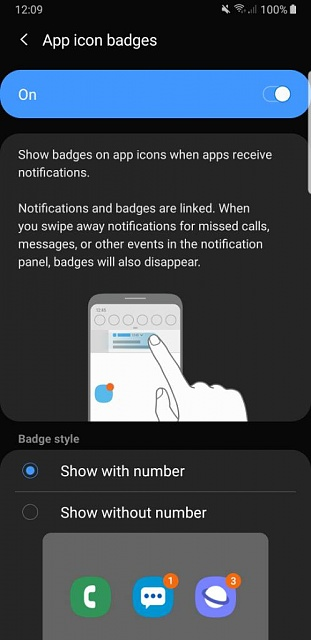 Message icon not showing how many messages i have anymore-screenshot_20190708-120921_settings.jpeg