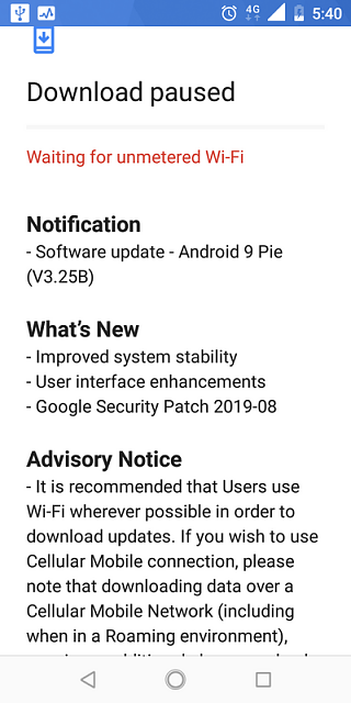 I have a question about a notice appearing on my screen-screenshot-20190830-174029.png