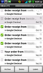 Getting Started with Android - Tips and Tricks-gmail-main-menu-checkboxes.png
