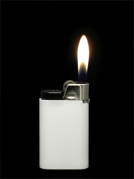 Play Music-white_lighter_with_flame.jpg