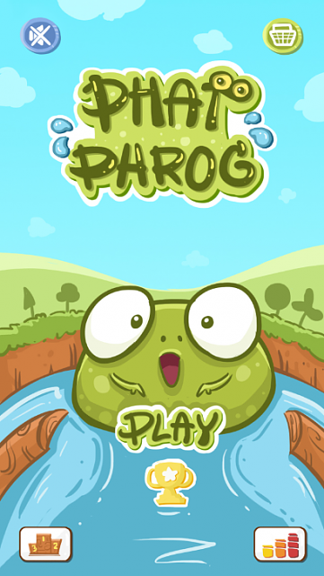 I've finished my first Android App, Phat Phrog is Live! [ Free ]-home.png
