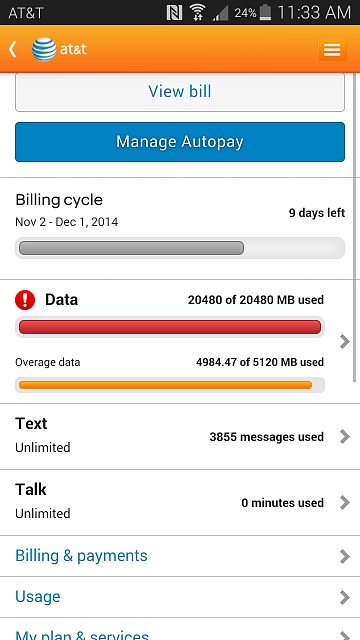 how do i check my data usage on my iphone warning go sms pro users check your data usage android 21488