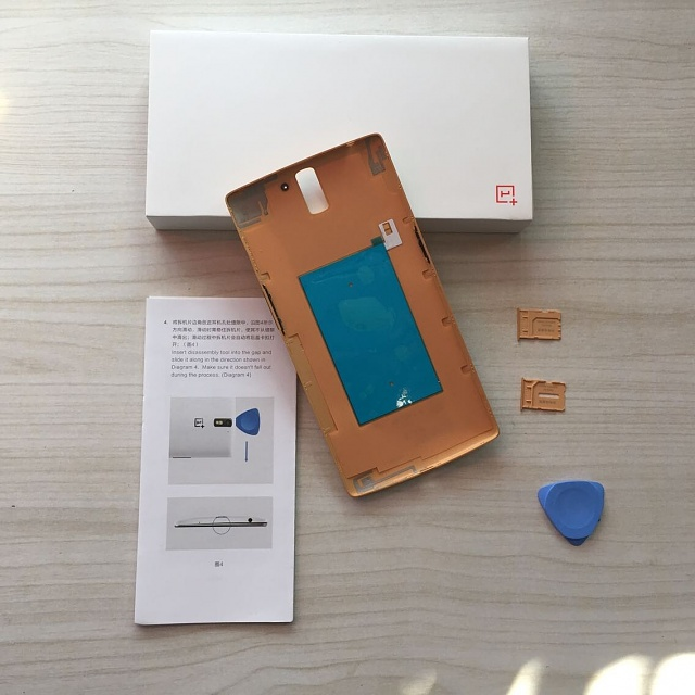 Hey, just to share!-OnePlus One Bamboo Back Cover wih NFC Unboxing Photos from my buddy-2.jpg