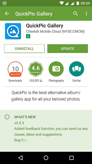 For All Us QuickPic Lovers, Bad News     - Page 2 - Android