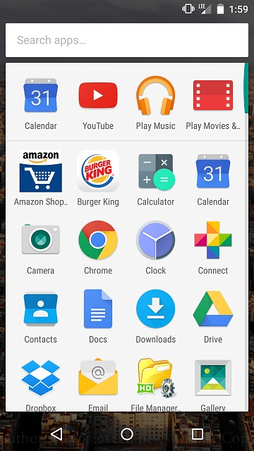 New Marshmallow App Drawer is TERRIBLE - Android Forums at