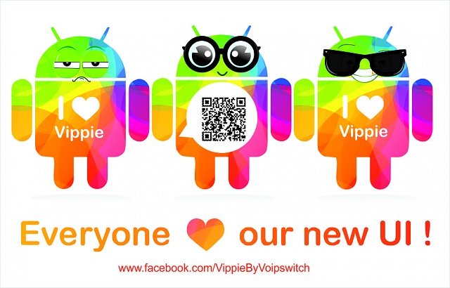 The best free communicator Vippie! Now our new multicolor version is available for Android!-new.jpg