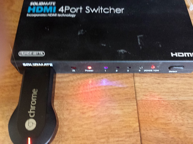 Is Chromecast compatible with an HDMI switch? - Android Forums at