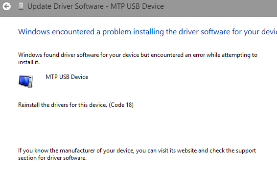Windows 8 (8.1) doesn't see Nexus 4: MTP Error-updatedrivererror.png