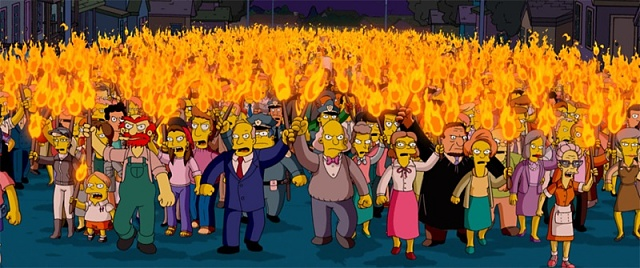 New Nexus 4 purchase: Anyone get a shipping notification or tracking number?-simpsons-angry-mob.jpg
