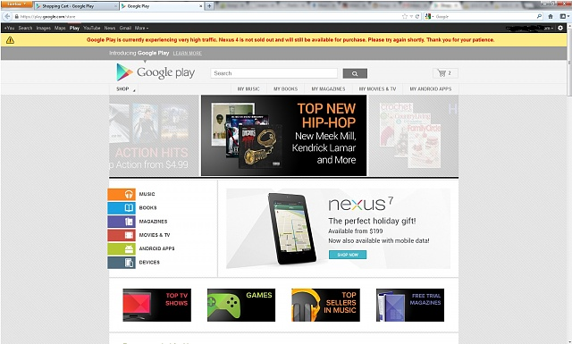Google Play's homepage says that the phone is NOT SOLD OUT-screenshot.jpg