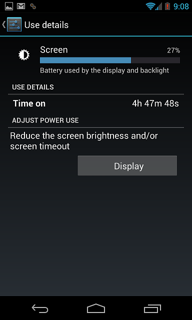 -------Nexus 4 Battery Life (Horrible, Major drainage!)--------screenshot_2012-12-07-21-08-13.png
