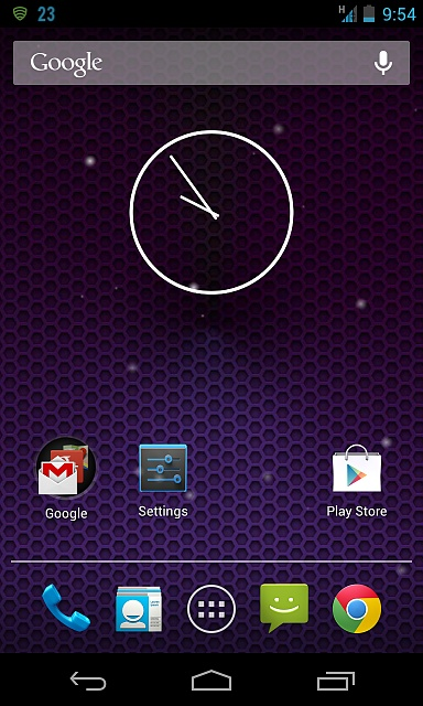 Nexus 4 --- Spots On Screen   :(-screenshot_2013-01-19-21-54-38.jpg