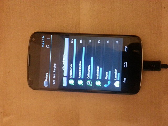 Nexus 4 battery not charging - Android Forums at AndroidCentral com