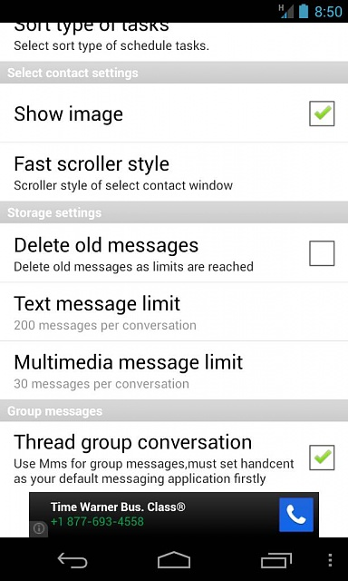 go sms pro group text