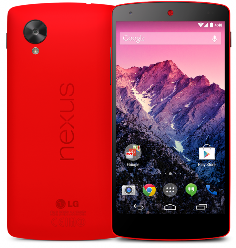 Google Nexus 5 now available in Red - Who's getting one?-google-nexus-5-red.png
