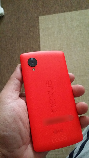 Google Nexus 5 now available in Red - Who's getting one?-20140205_123842.jpg