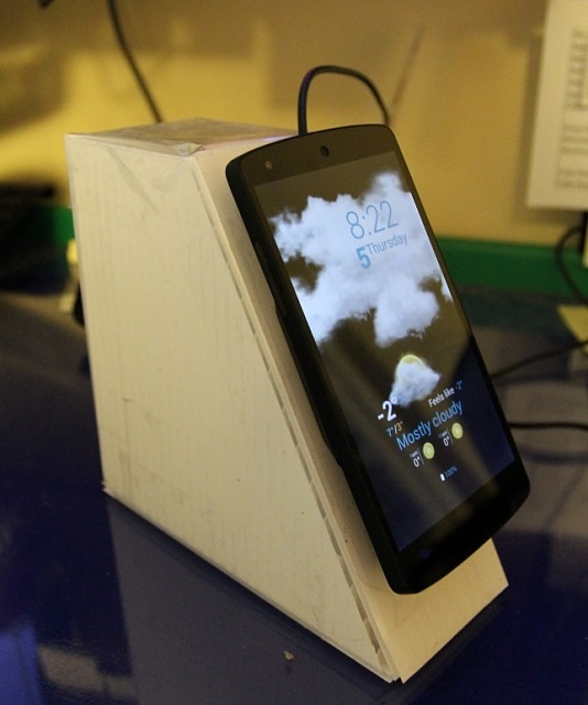 Homemade Desk Stand For Wireless Charger Android Forums At