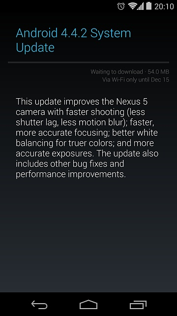 4.4.2 is rolling out on the Nexus 5, who has it?-screenshot_2013-12-12-20-10-51.jpg