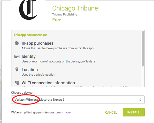 Moto Nexus 6 recognized on VZW network-chicago-tribune-android-apps-google-play.png