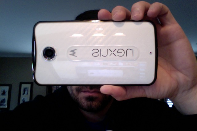 Midnight Blue Nexus 6 with white carbon D Brand skin and ringke Fusion smoke case-photo-2-28-15-11.27-am.jpg