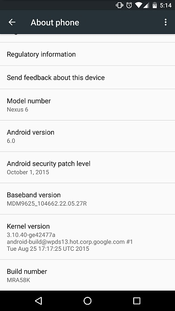 Nexus 6: Marshmallow 6.0 Discussion - Images / OTA-screenshot_20151006-171457.jpg