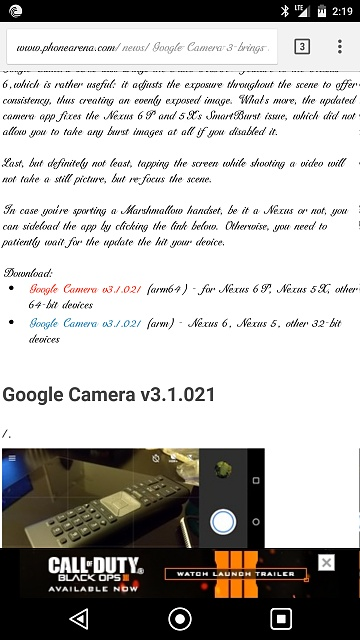 google camera apk there was a problem parsing the package