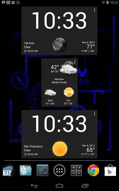 recommend some good themes weather widgets android forums at