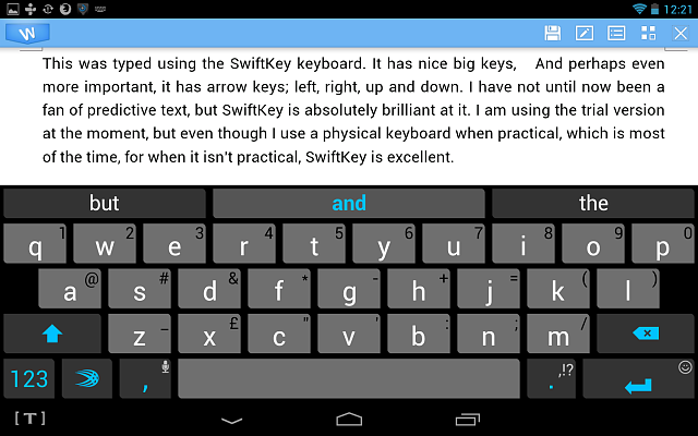Please recommend a basic program for working with MS Word documents-swiftkey-predictive-text.png
